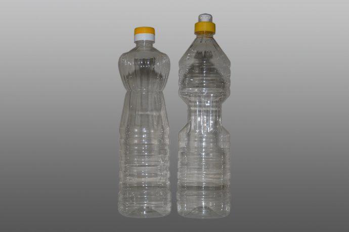 Пластмасови бутилки за олио